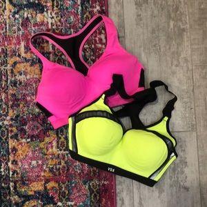 2 Victoria's Secret Sports Bras